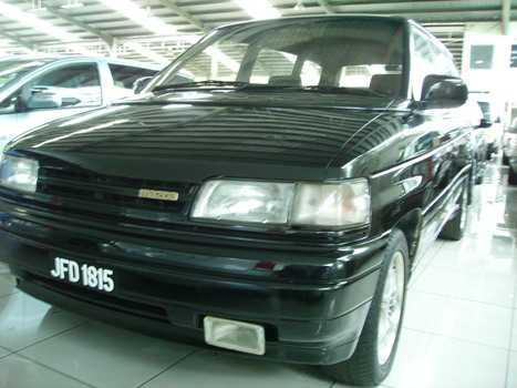 MAZDA W/VAN - JFD 1815 (1990) BLACK