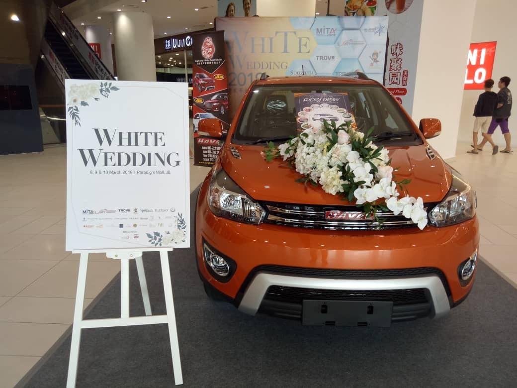 Haval roadshow at Paradigm Mall Johor Bahru.