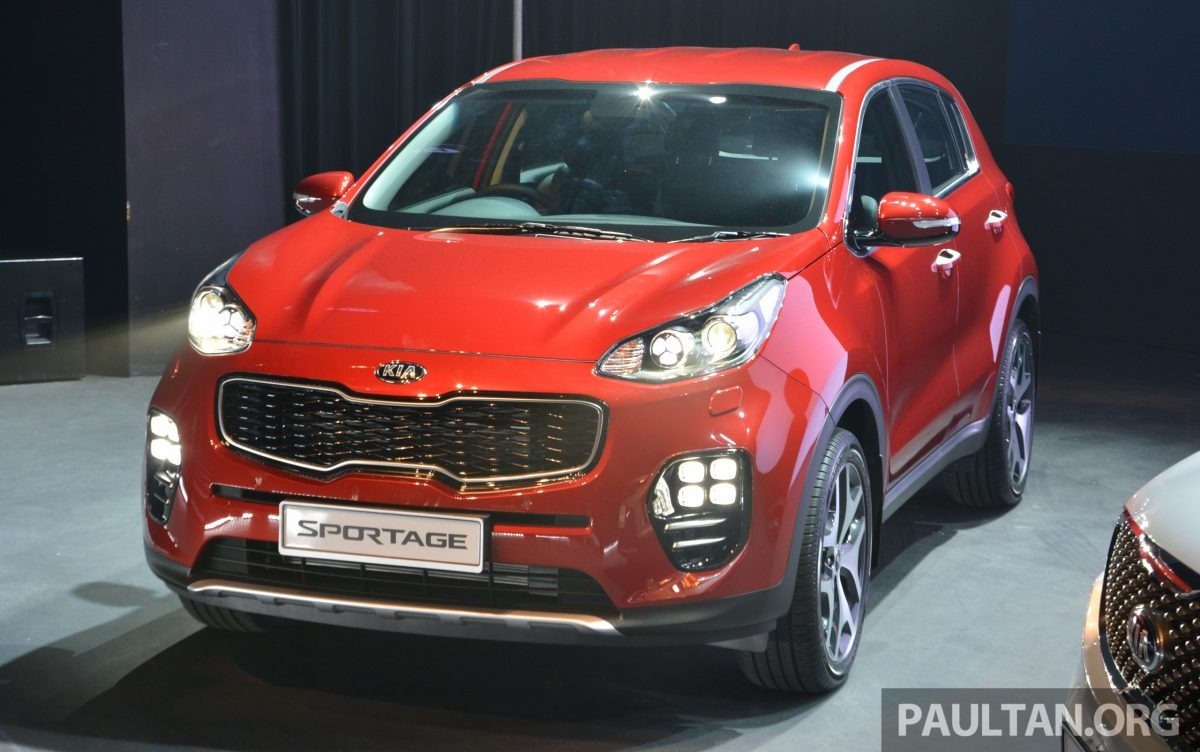 All new Kia Sportage & Sorento