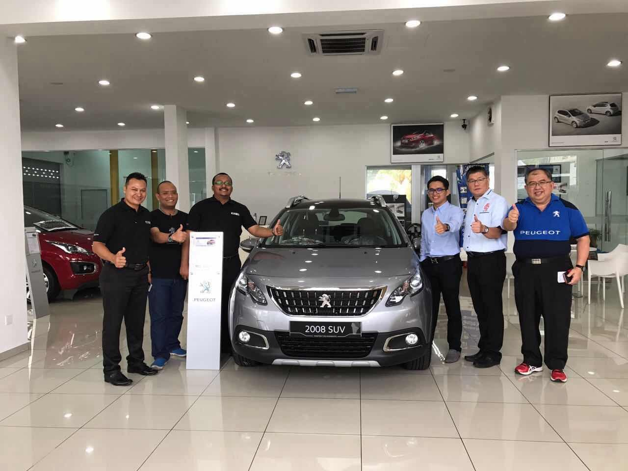 EXCITEMENTG TO LAUNCHING OF PEUGEOT NEW 208 & NEW 2008 PURETECH. CELEBRATION NEW YEAR 2017 & TEST DRIVE EVENT.