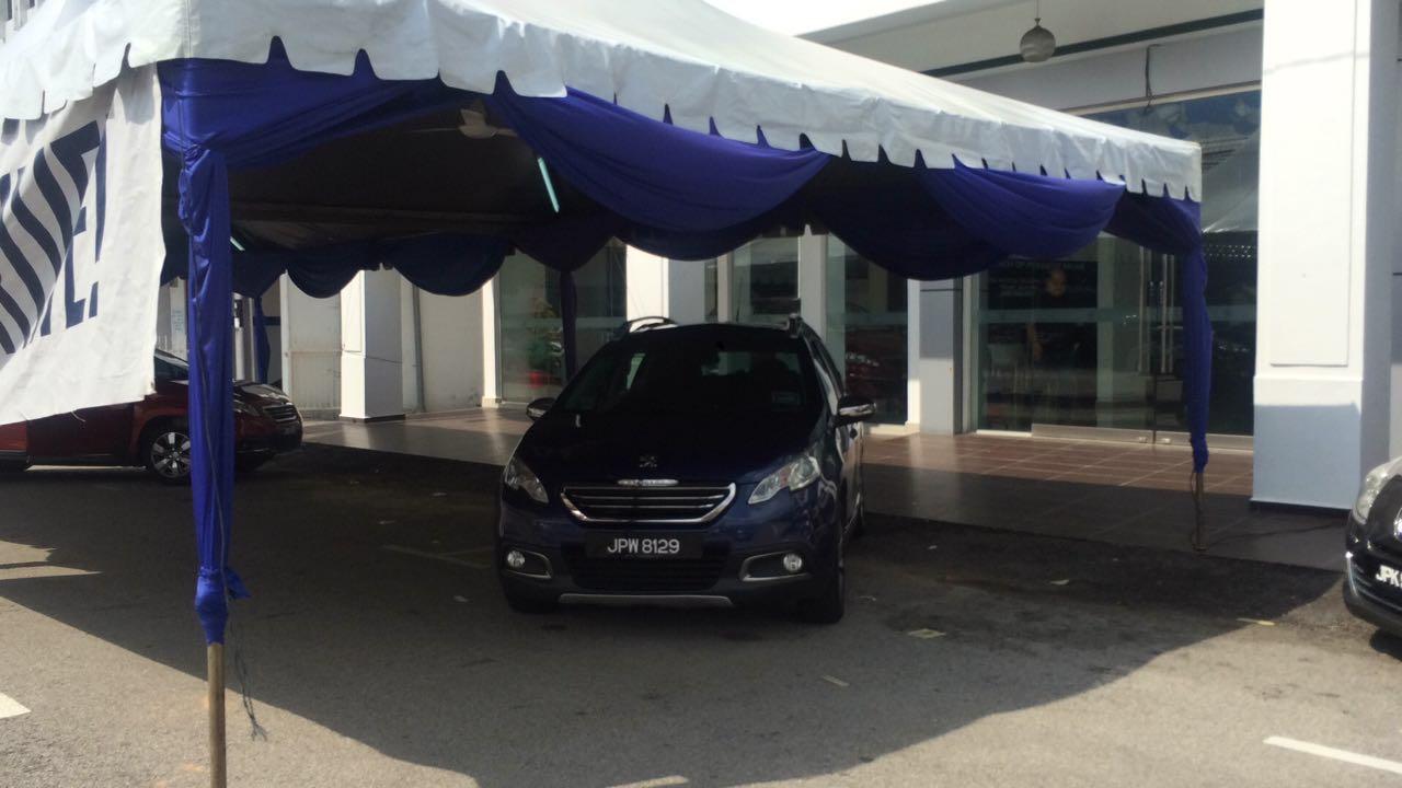 Kia & Peugeot test drive event