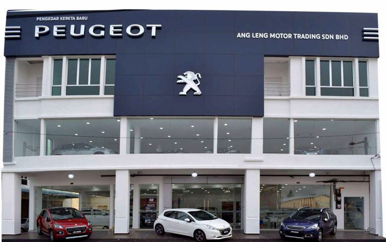 NEW PEUGEOT SHOWROOM