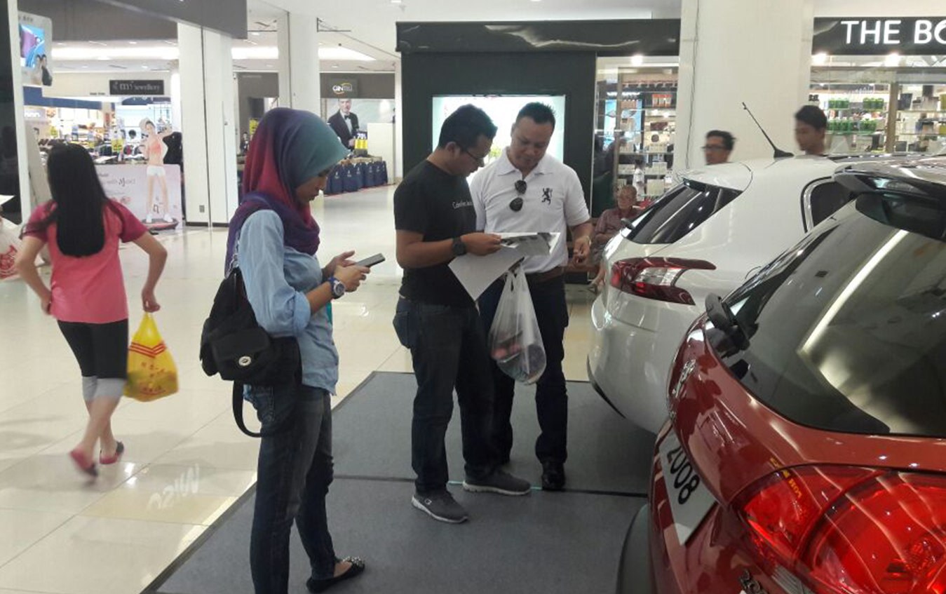 Peugeot roadshow- BP mall