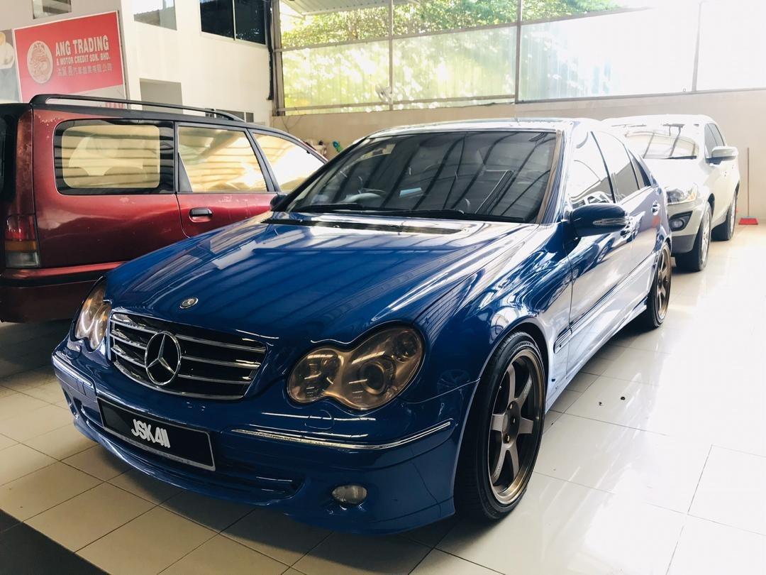 Mercedes Benz C180k
