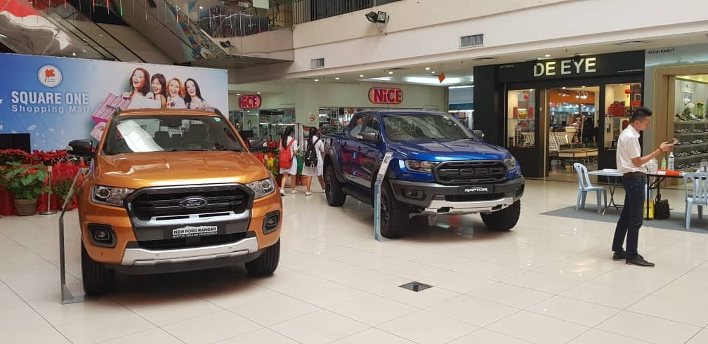Road show for Ford Ranger And Peugeot 208 and 3008