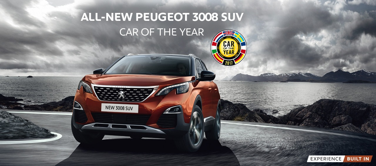 AN INVITATION TO THE NEW PEUGEOT 3008 – ALLURE THP SUV (FULLY IMPORTED)