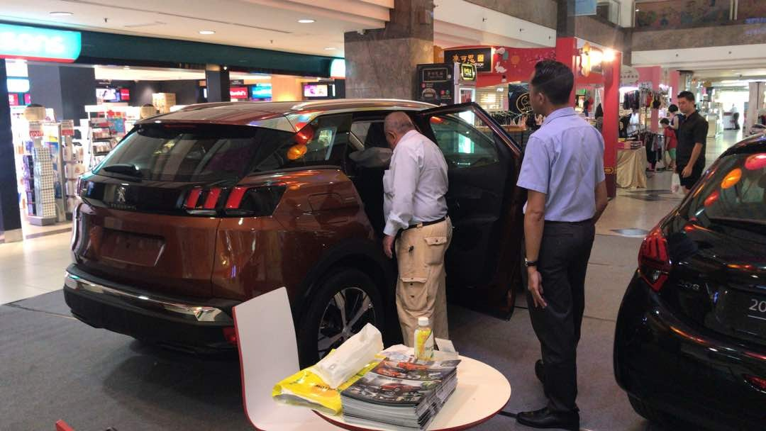 Wetex Parade Event Road Show for Peugeot