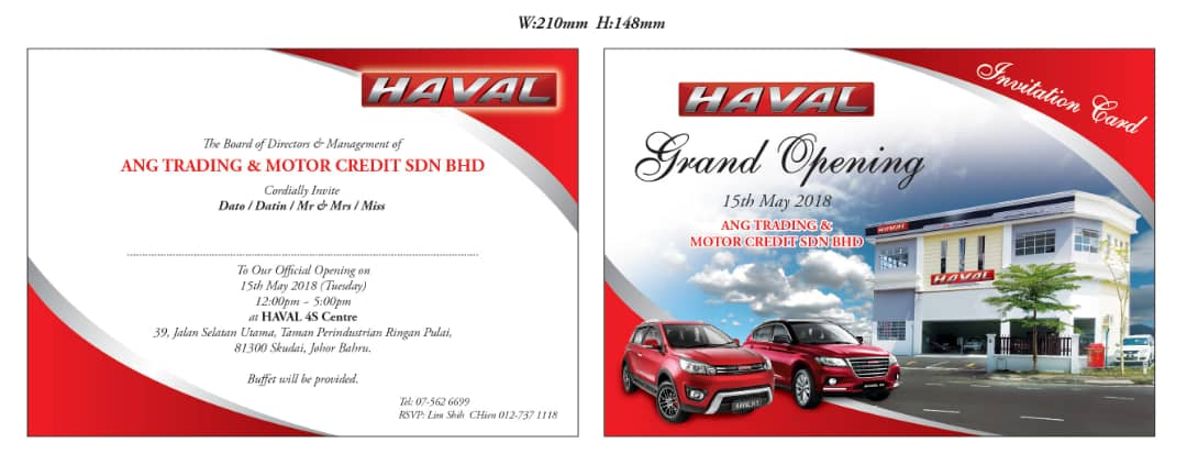 Haval opening ceremony