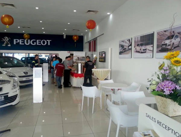 Launching peugeot 208