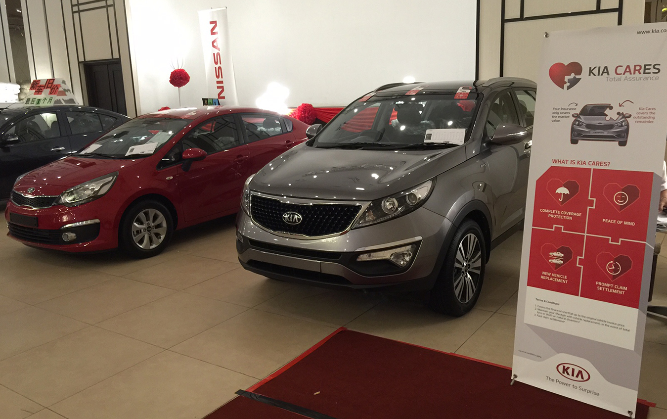 Kia roadshow at YS connection