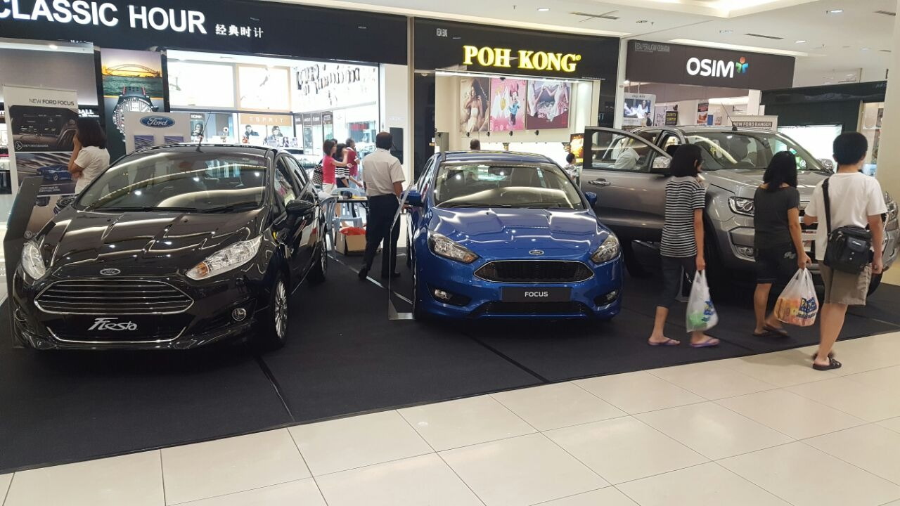 Batu Pahat Mall Ford roadshow